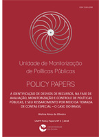 UMPP Policy Papers nº 3 - 2018